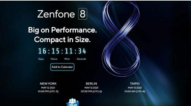 Photo of Asus Announces Release Date of Its Expected New Phone Zenfone 8